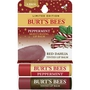 Holiday Twin Pack - Peppermint Lip Balm/Red Dahlia Tinted Lip Balm - in Blister Box